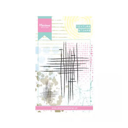Marianne Design - Clear Stamps - Doodle Stripes MM1624