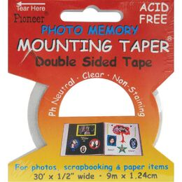 "Photo Memory Double-Sided Mounting Tape .5""X30'"