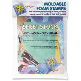 Clearsnap - Magic Stamp Moldable Foam Stamps 3/Pkg - Sheet Stock MS10100