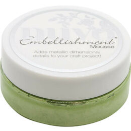 Nuvo Embellishment Mousse - Forest Green NEM832