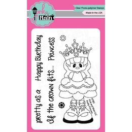 Pink & Main Clear Stamps - Princess PM0078