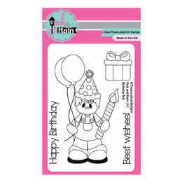 Pink & Main Clear Stamps - Birthday Boy PM0113
