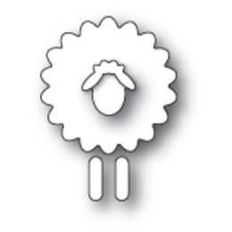 Poppystamps Dies - SIMPLE SHEEP 1790 - NEW 2017 RELEASE