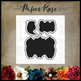 Paper Rose Dies - Snugglepot, Cuddlepie & Raggedy Blossom 17311