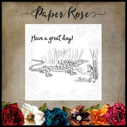 Paper Rose Snugglepot & Cuddlepie Clear Stamp - Great Day 17418