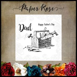 Paper Rose Clear Stamp - Toolbox 17481