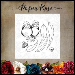 Paper Rose Snugglepot & Cuddlepie Clear Stamp - Peeking Out 17538