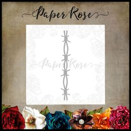 Paper Rose Dies - Barbed Wire Chunky 17694