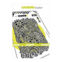 Carabelle Studio Cling Stamp A6 By Azoline - Lace Background SA60409