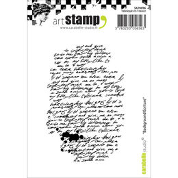 Carabelle Studio Cling Stamp A7 - Writing Background SA70096