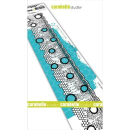 "Carabella Studio Cling Stamp Edge 2""X11.5"" - Border With Holes SED0028"