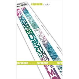 "Carabella Studio Cling Stamp Edge 2""X11.5"" - Washi Tape-Graphisme #1 SED0030"