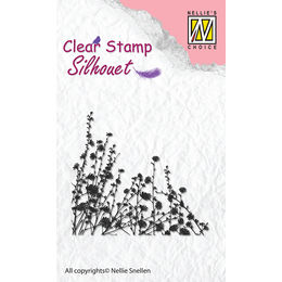 Nellie Snellen Clear Stamps - Silhouette Spring Flowers SIL021