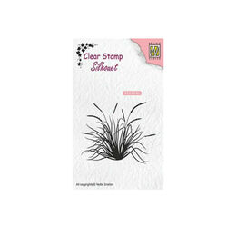 Nellie Snellen Clear Stamps Silhouet - Blooming Grass-2 SIL057