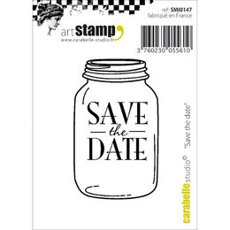 Carabelle Studio Cling Stamp - Save The Date SMI0147