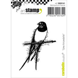 "Carabelle Studio Cling Stamp 2.75""X3.75"" - A Swallow SMI0161"