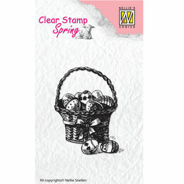 Nellie Snellen Clear Stamps Spring - Easter Eggs SPCS002