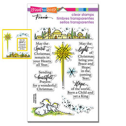 Stampendous Perfectly Clear Stamps - Light & Hope
