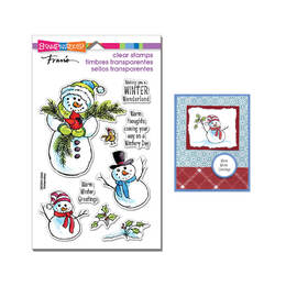 Stampendous Perfectly Clear Stamps - Wintery Day