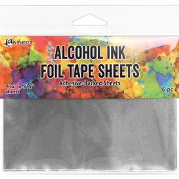 Tim Holtz Alcohol Ink Foil Tape Sheets - 6 Sheets TAC58533