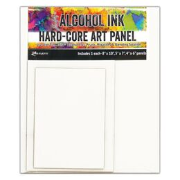 Tim Holtz Alcohol Ink Hard Core Art Panels - Rectangle TAC66910