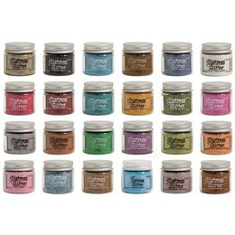 NEW Tim Holtz DISTRESS GLITTER 18 g jar - CHOOSE YOUR COLOUR