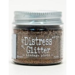 Tim Holtz DISTRESS GLITTER 18 g. - Vintage Photo TDG39341