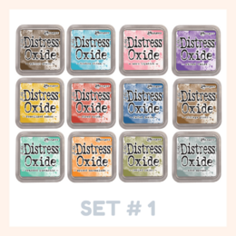 Tim Holtz Distress Oxide Ink Pads Release#1 - Choose from 12 Colours