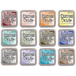 Tim Holtz Distress Oxides January 2018 Releases - Set of 12 New Colour (Set 3)