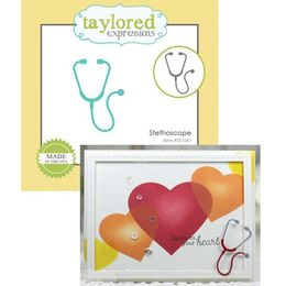 Taylored Expressions Little Bits Dies - Stethoscope - TE1041