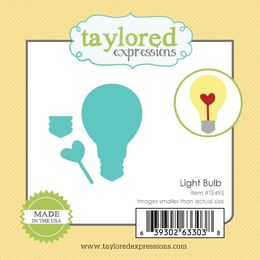 Taylored Expressions Little Bits Dies - Light Bulb - TE495