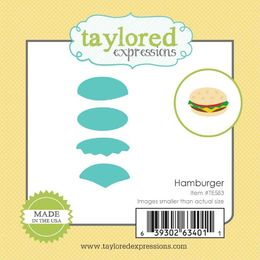 Taylored Expressions Little Bits Dies - Hamburger - TE583
