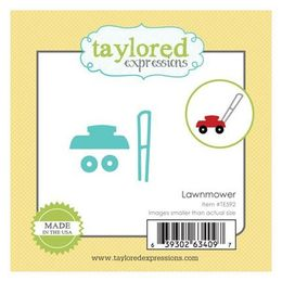 Taylored Expressions Little Bits Dies - Lawnmower - TE592