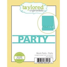 Taylored Expressions Block Dies - Party - TE604