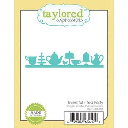 Taylored Expressions Dies - Eventful - Tea Party - TE605