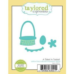 Taylored Expressions Dies - A Tisket A Tasket - TE75