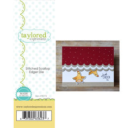 Taylored Expressions Dies - Stitched Scallop Edger - TE773