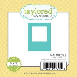 Taylored Expressions Dies - Little Bits - Mini Frame 1 - TE903