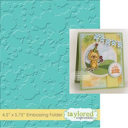 Taylored Expressions Embossing Folder - Splatter - TEEF32