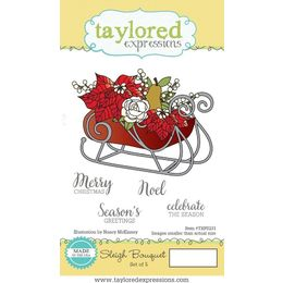 Taylored Expressions Stamps - Sleigh Bouquet - TEPS231