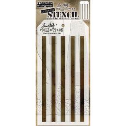 PREORDER - Tim Holtz Layering Stencil - Shifter Sripes THS108
