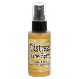 Tim Holtz Distress Oxide Spray - Fossilized Amber TSO64756