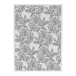Ultimate Crafts Embossing Folders - L'Aquarelle Designs Collection - Watercolour Blooms ULT157774