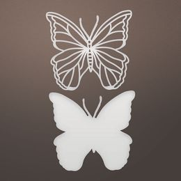 Ultimate Crafts Dies - L'Aquarelle Designs Collection - Widespread Butterfly (2pc) ULT157786