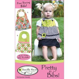 Vanilla House Sewing Patterns - Pretty In Bibs!