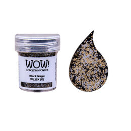 Wow! Embossing Powder 15ml - Black Magic X