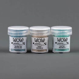 Wow! Trios Embossing Powder - Toteally Amazing