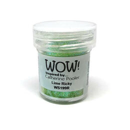 Wow! Embossing Powder 15ml - Lime Ricky (Regular)