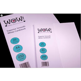 Wow! A5 Cardstock - Superior Smooth White