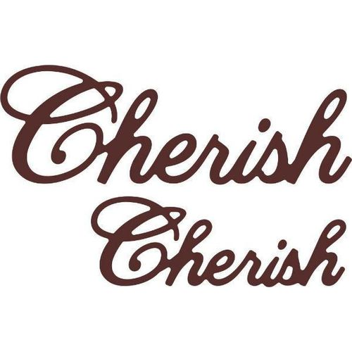 Cheery Lynn Designs Dies - Cherish (Set of 2) B415